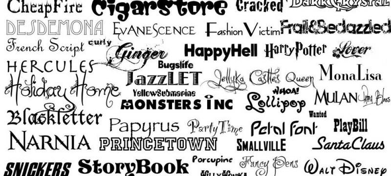 combinaciones de tipográfia